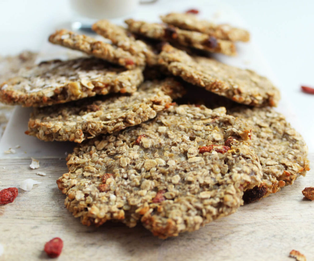Haferflocken-Quinoa-Kekse