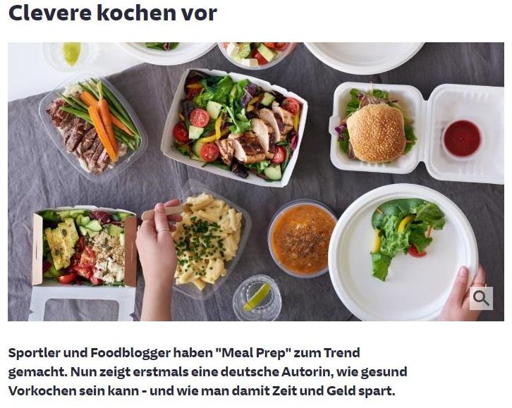 Sueddeutsche Meal Prep Artikel