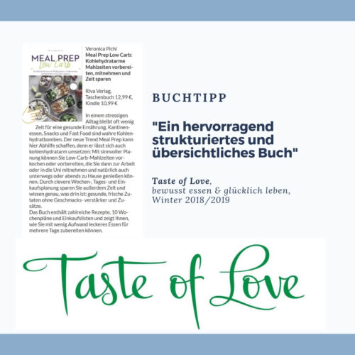 Taste of Love_Buchtipp