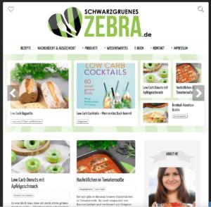 "Food-Blog ""Schwarzgrünes Zebra"""