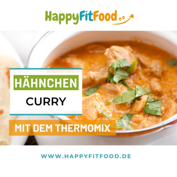 Hähnchen Curry Thermomix Rezept Low Carb