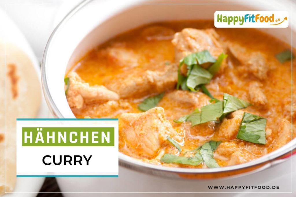 Hähnchen Curry mit Kokosmilch Low Carb Rezept