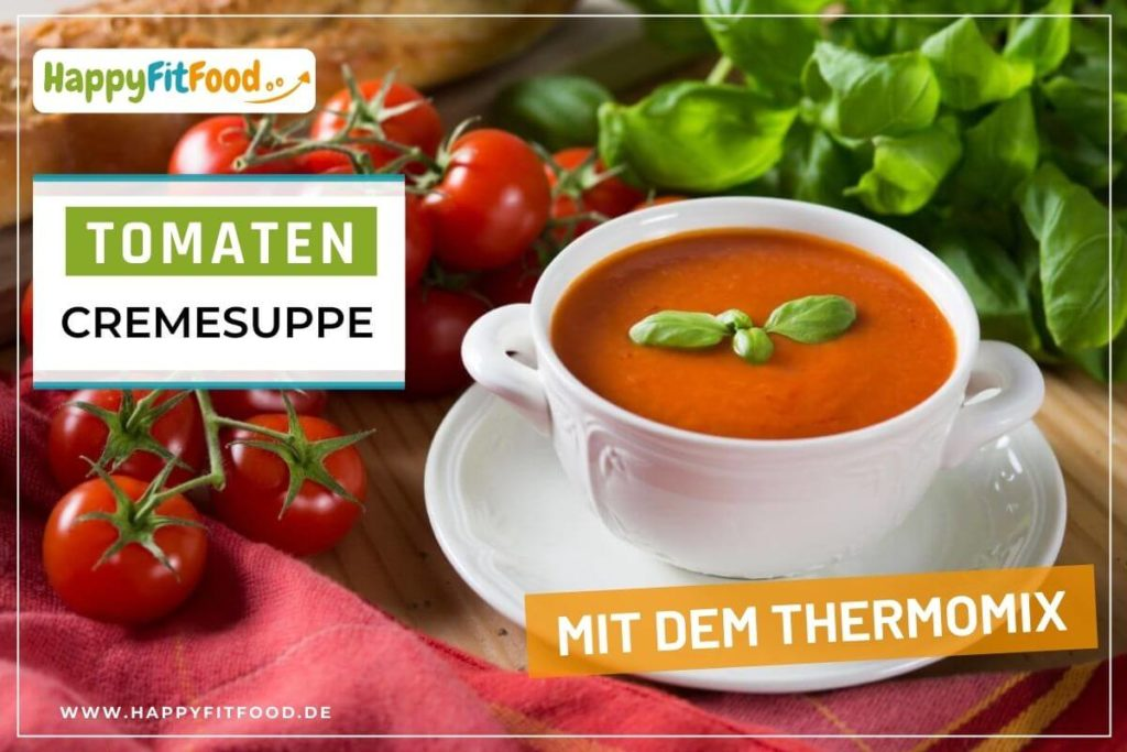 Lecker-fruchtige Tomatencremesuppe