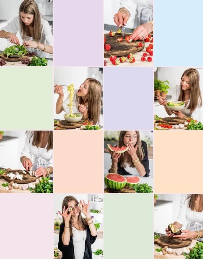 Bilder von Bianca Zapatka Buchautorin von Vegan Foodporn