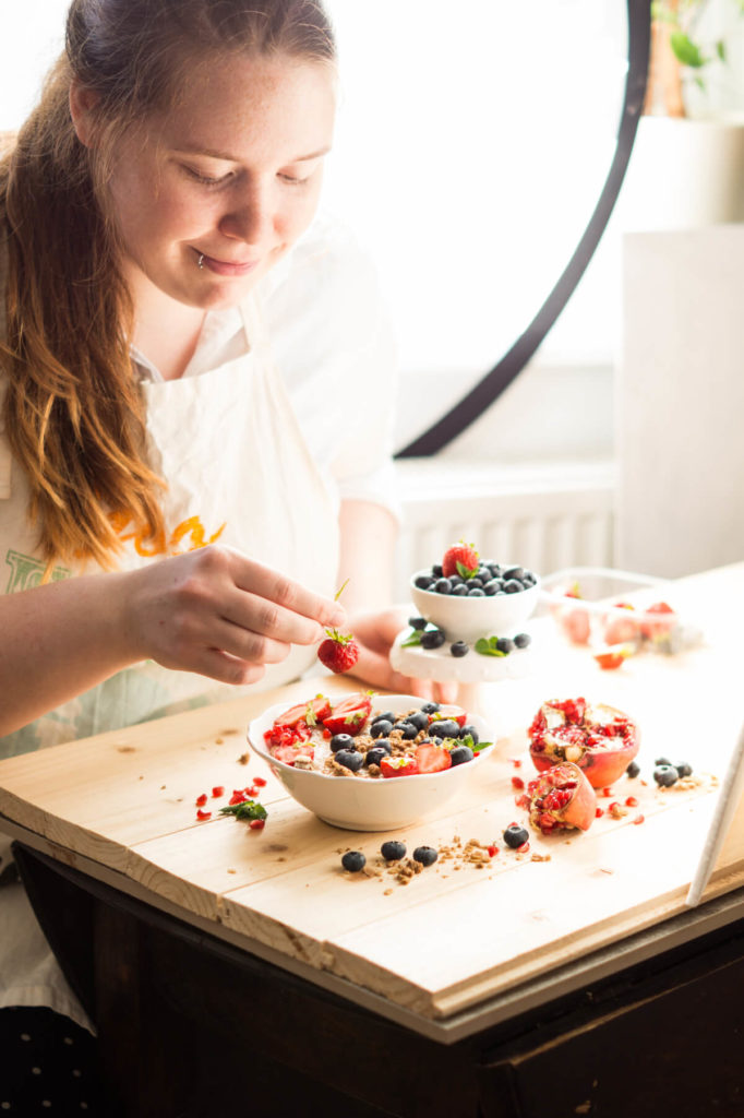 Ronja Pfuhl Autorin Food-Fotografie-Expertin Miss Grünkern auf Instagram