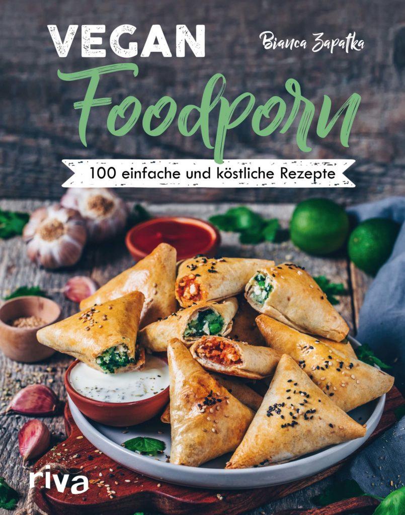 Buchcover Vegan Foodporn von Bianca Zapatka