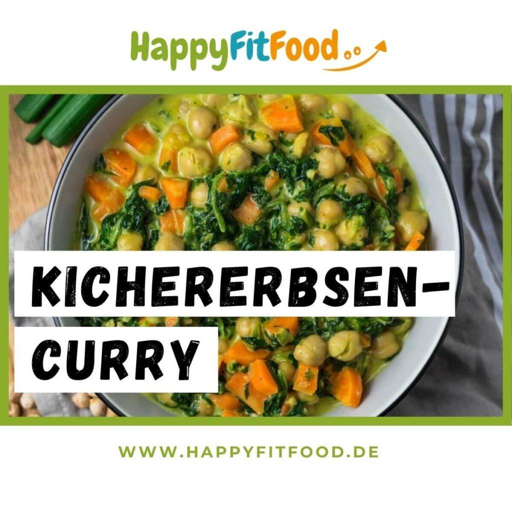 Kichererbsencurry vegetarisch glutenfrei Meal Prep Rezepte