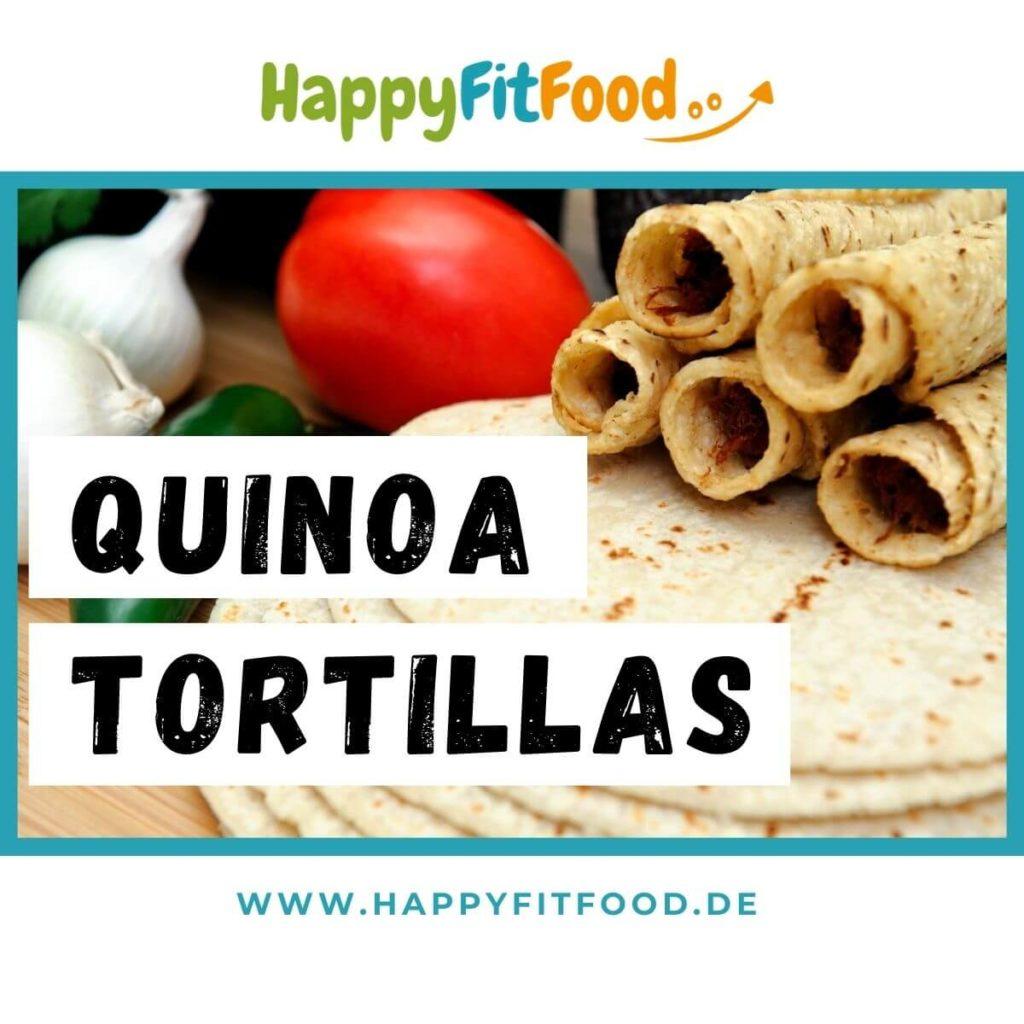 Quinoa Tortillas selber machen Rezept mit Quinoa vegan und glutenfrei