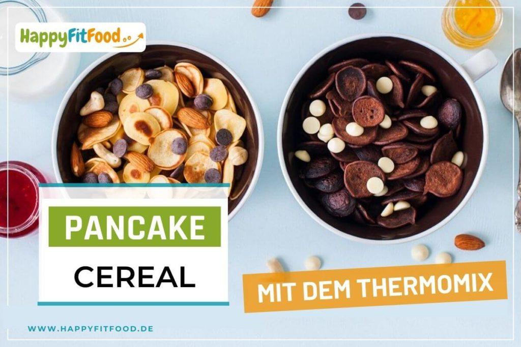 Pancake Cereal Rezept zubereitet mit dem Thermomix
