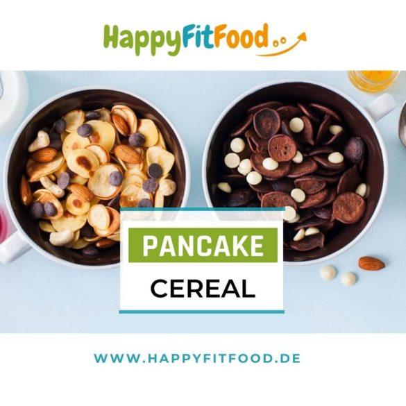 Pfannkuchenteig Rezept für Pancake Cereal Mini Pfannkuchen