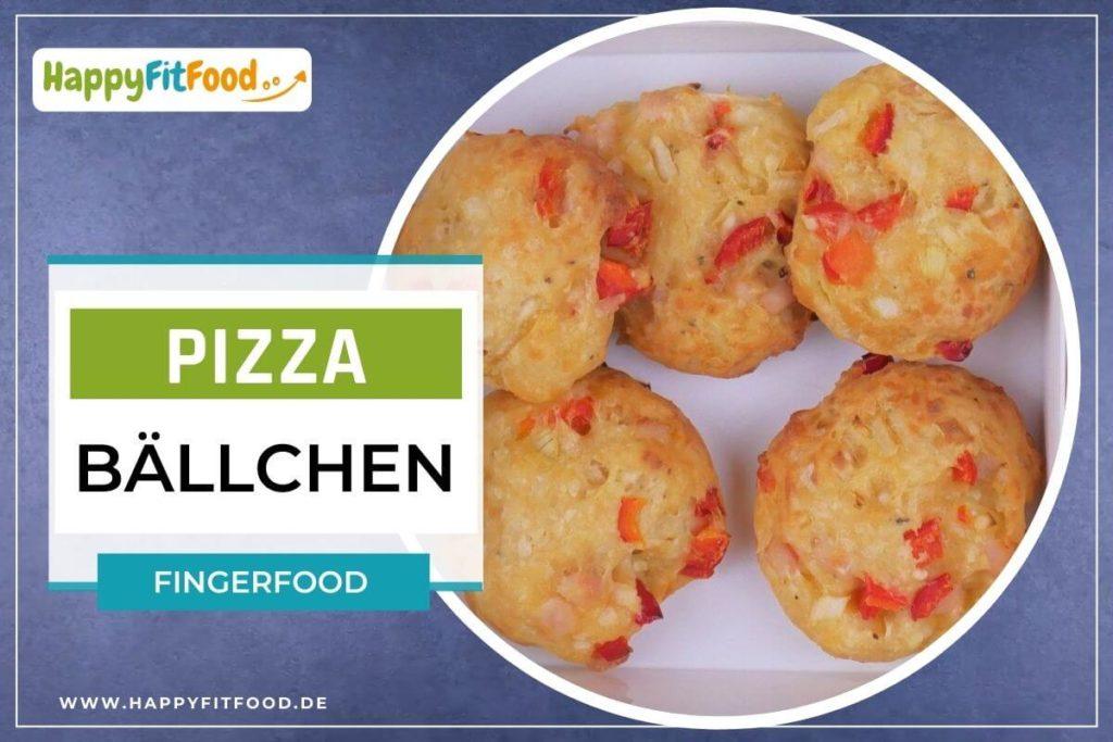 Pizzabällchen Rezept für Fingerfood Pizzasnack