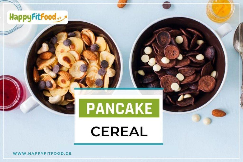 Rezept Pfannkuchenteig für Pancake Cereal Mini Pfannkuchen Müsli