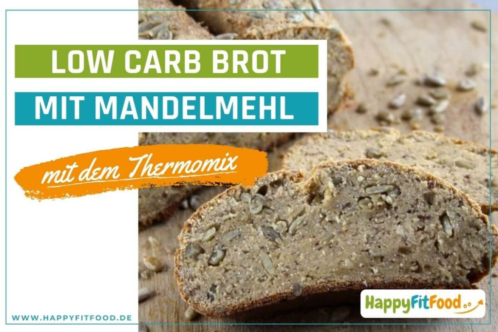 Thermomix Rezept für Low Carb Brot mit Thermomix