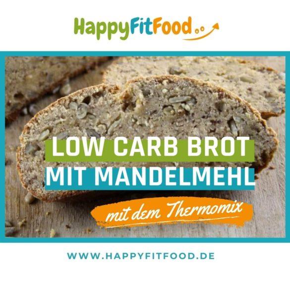 Low Carb Brot mit Mandelmehl glutenfrei und vegetarisch