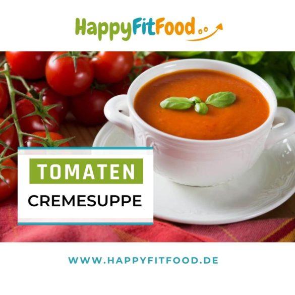 Tomatencremesuppe einfaches, schnelles Rezept vegan und glutenfrei