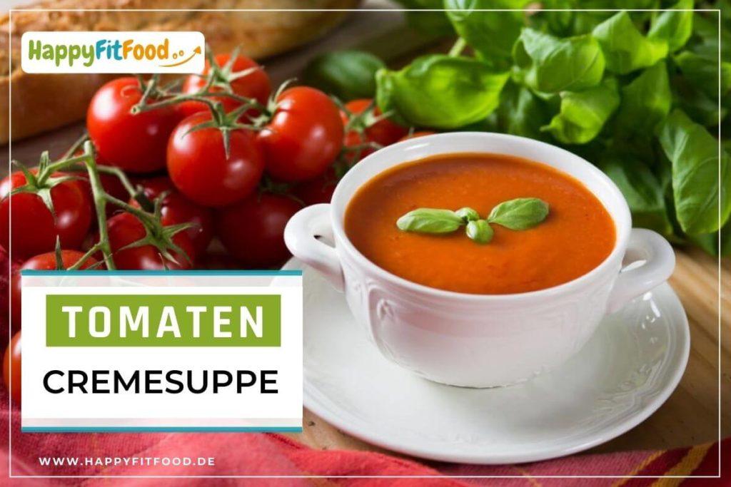 Cremige Tomatensuppe - einfach, vegan, glutenfrei