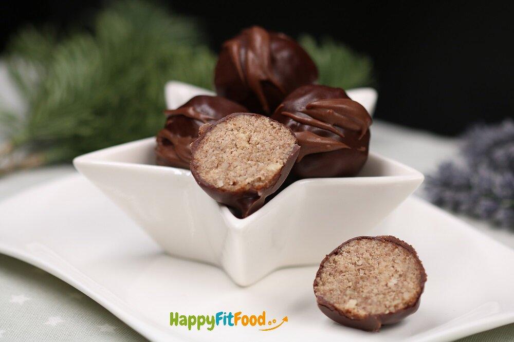 Low Carb Lebkuchenpralinen Rezept ohne Zucker selber machen