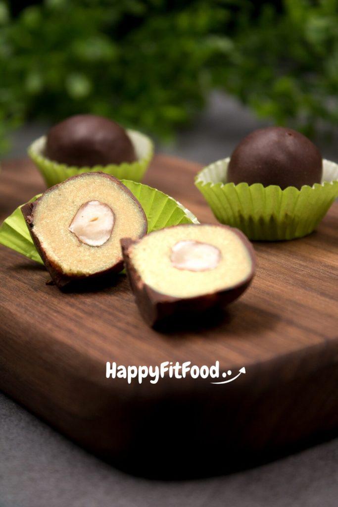 Low Carb Marzipan Pralinen Rezept ohne Zucker selber machen