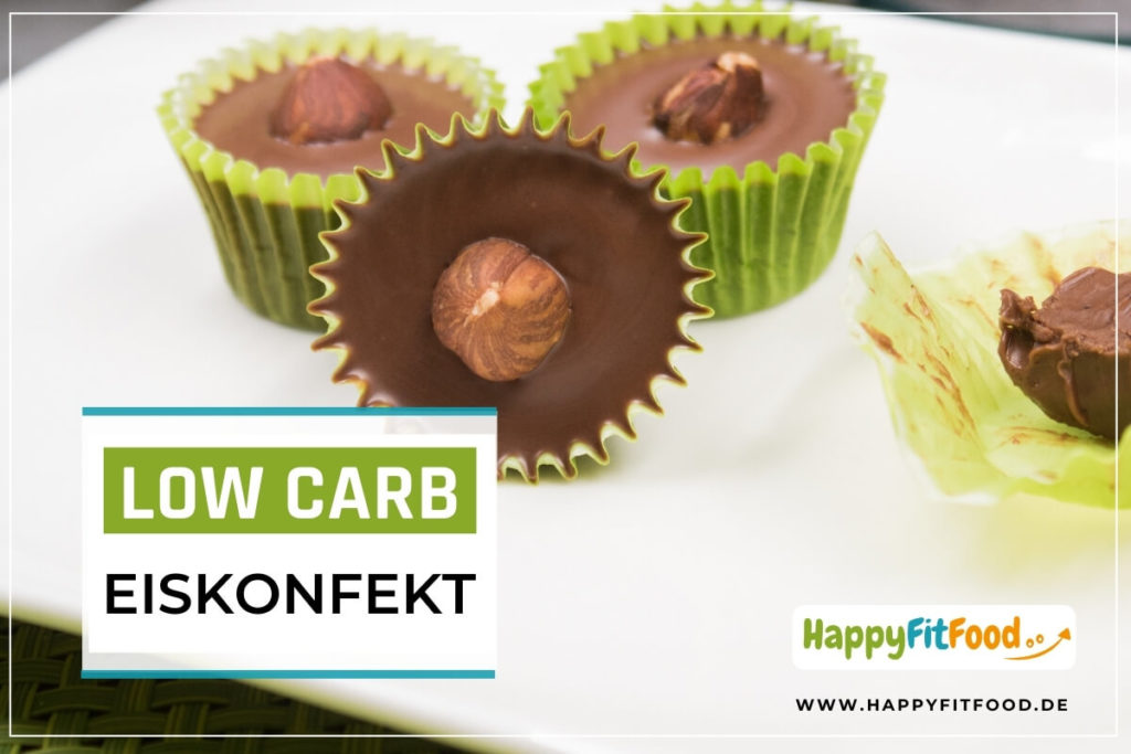 Low Carb Eiskonfekt Rezept zuckerfrei selber machen