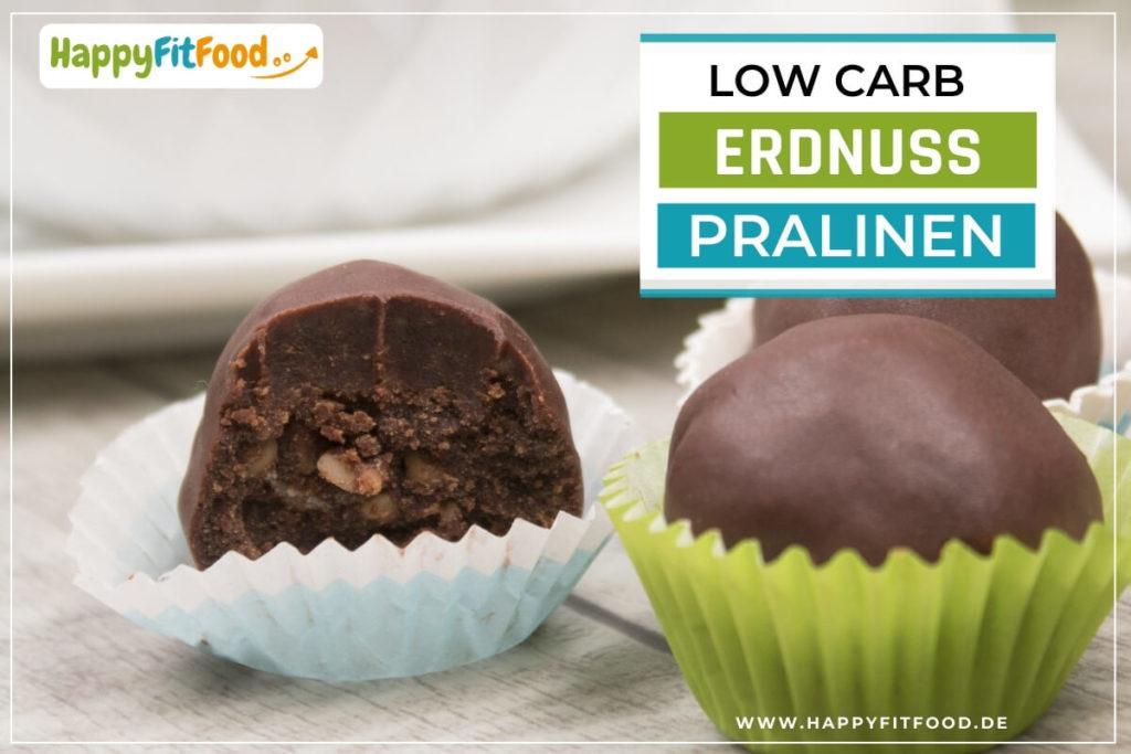 Low Carb Erdnuss Pralinen zuckerfrei Rezept selber machen