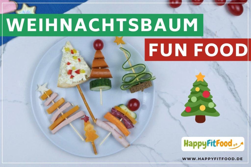 Weihnachtsbaum Fun Food essbare Weihnachtsbäume für Kinder als Weihnachtsdeko Weihnachtstafel