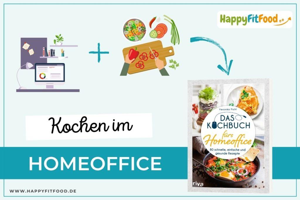 Kochen im Homeoffice mit dem Buch von Veronika Pichl